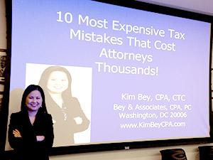 Kim Bey Tax Strategies Workshop